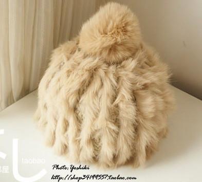 菠萝毛线帽子编织搭配