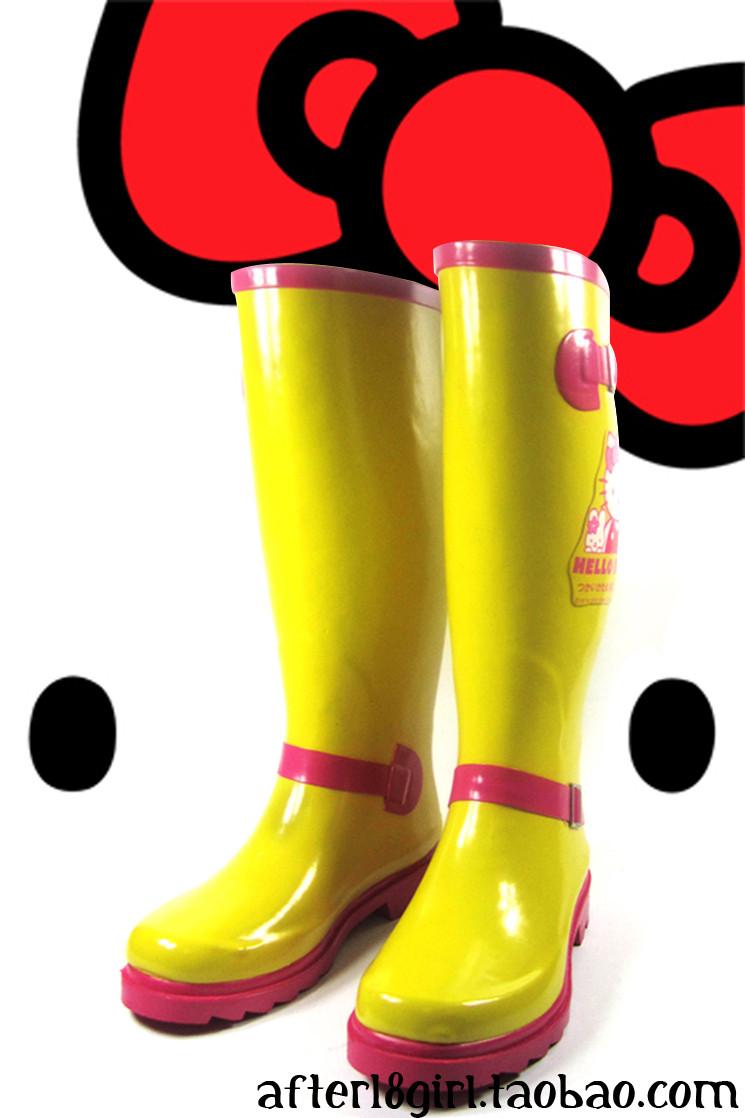 大黄靴搭配图片_大黄靴怎么搭配
