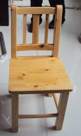 柏木小靠背椅/儿童学习椅/餐椅/小凳子/宝宝椅纯/纯