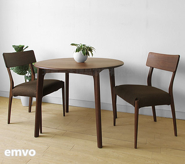 emvo 日式家具 北欧风格 日式实木餐桌 水曲柳/木质 餐桌yc-57