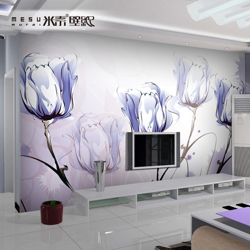 影視墻壁畫3d壁畫搭配