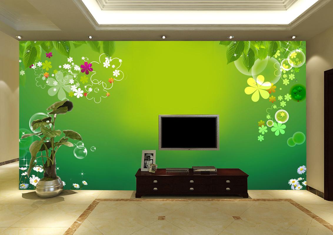 雅岚电视背景墙壁纸大型壁画|壁纸壁画卧室|电视墙