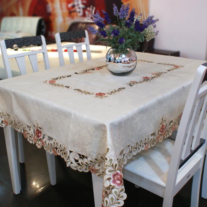 田园欧式奢华 茶几桌布/桌旗台布餐垫餐桌布