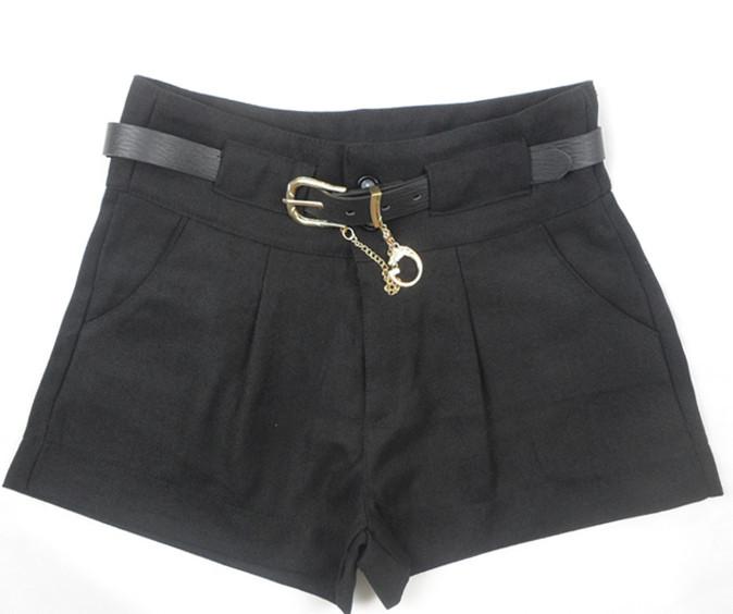 冬季阔腿裤短裤搭配