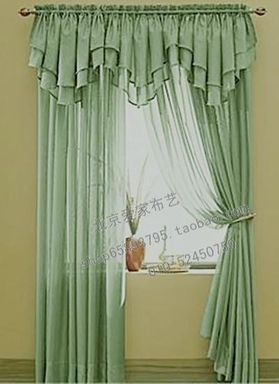 【图】网友推荐单品:特价 欧式窗帘 穿管荡度帘头 ,小