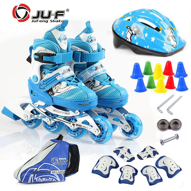 滑冰鞋可调儿童套装搭配