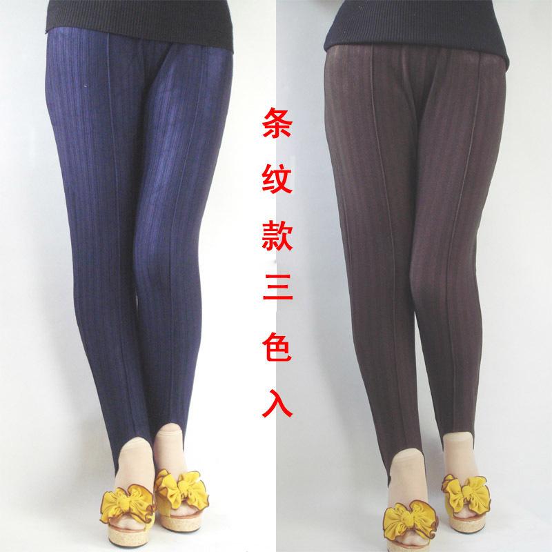 老式竖条纹90年代疯狂的裤子,如果你复古,怀旧,就来试试吧!
