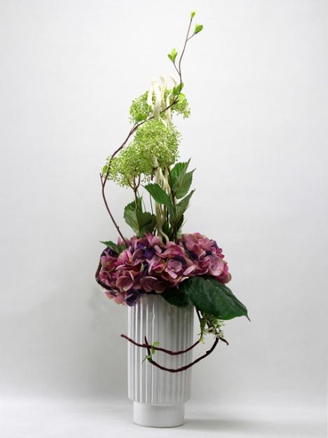 板房软装花艺仿真花艺术插花客厅花艺欧式花艺