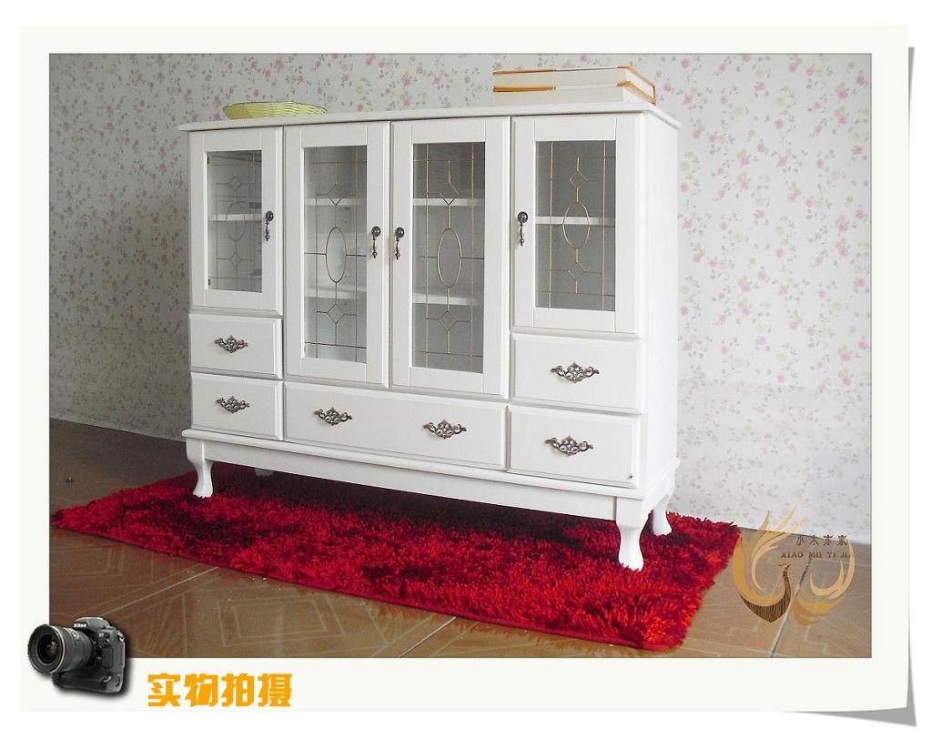 欧式实木玄关柜 门厅隔断装饰柜