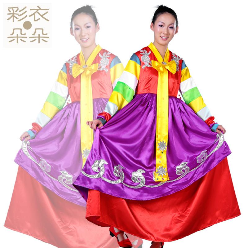 【彩衣朵朵】大长今 韩服 朝鲜族服装 民族舞蹈演出服装 女装6025