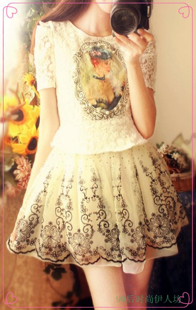 童话公主裙搭配