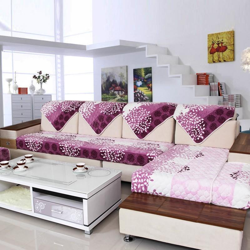 欧式沙发垫布艺搭配图片