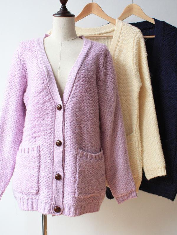 外套毛线编织花样搭配