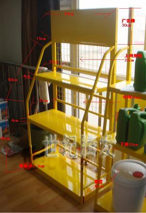 北京润滑油展架涂料展架油漆展示架汽车机油展架