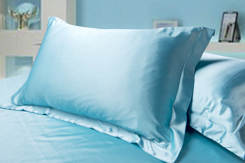 枕套扇形折花步骤图