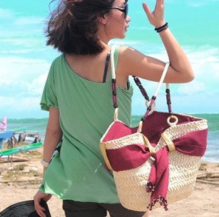三件包邮★巴厘岛风情草编 藤编包 草编包 编织包 沙滩包 草包 38元