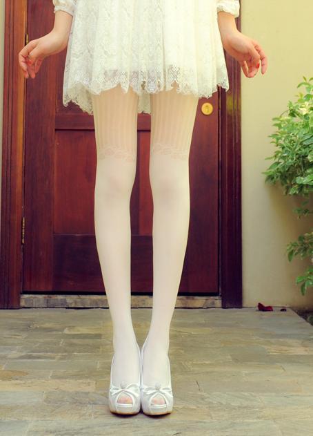 【玫瑰镂空防勾丝袜】-衣服-女士内衣/家居服