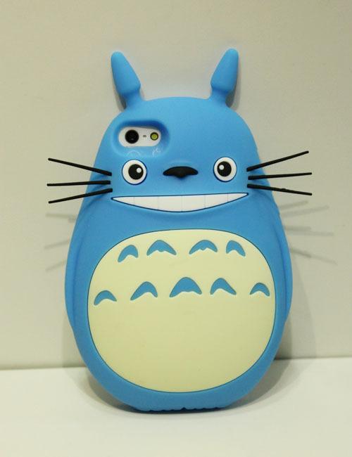 超萌大肚龙猫手机套