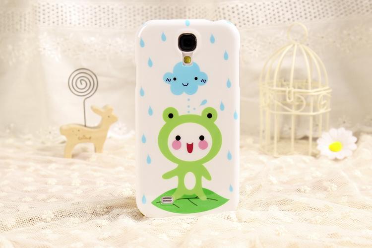 三星i9500/n7100可爱青蛙手机壳