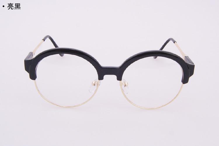 小清新韩版圆形眼镜框