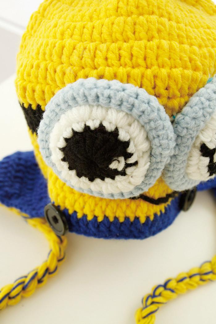 小黄人婴儿毛线鞋手工编织宝宝毛线鞋 26视频
