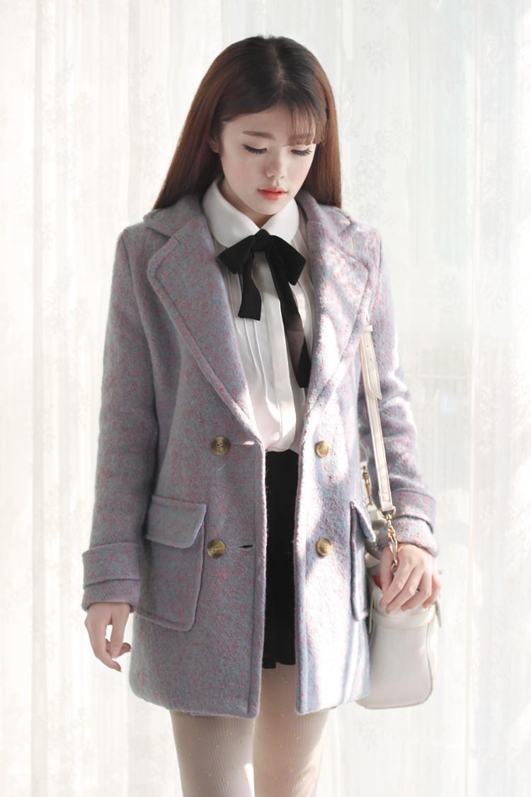 【系带蝴蝶结衬衫】-衣服-服饰鞋包