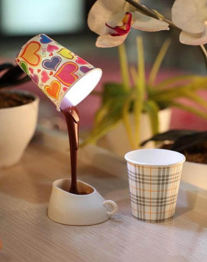 usb 创意咖啡杯小夜灯