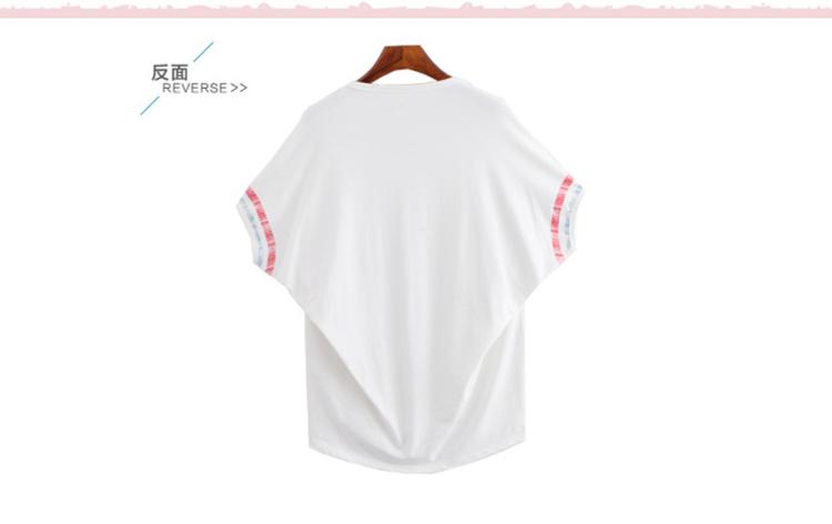 【简笔画风格小人公交圆领短袖t恤】-衣服-服饰鞋包