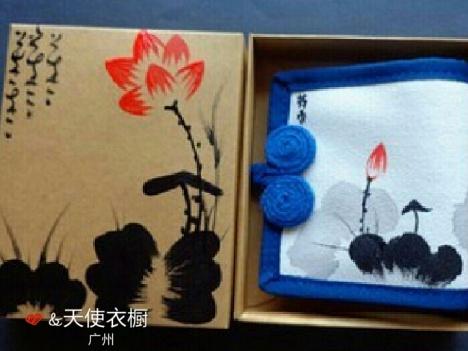 【新款手绘中国风钱包民族风花纹女实拍】-无类目