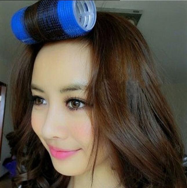 空气刘海双层自粘卷发器怎么用-空气刘海用卷发器