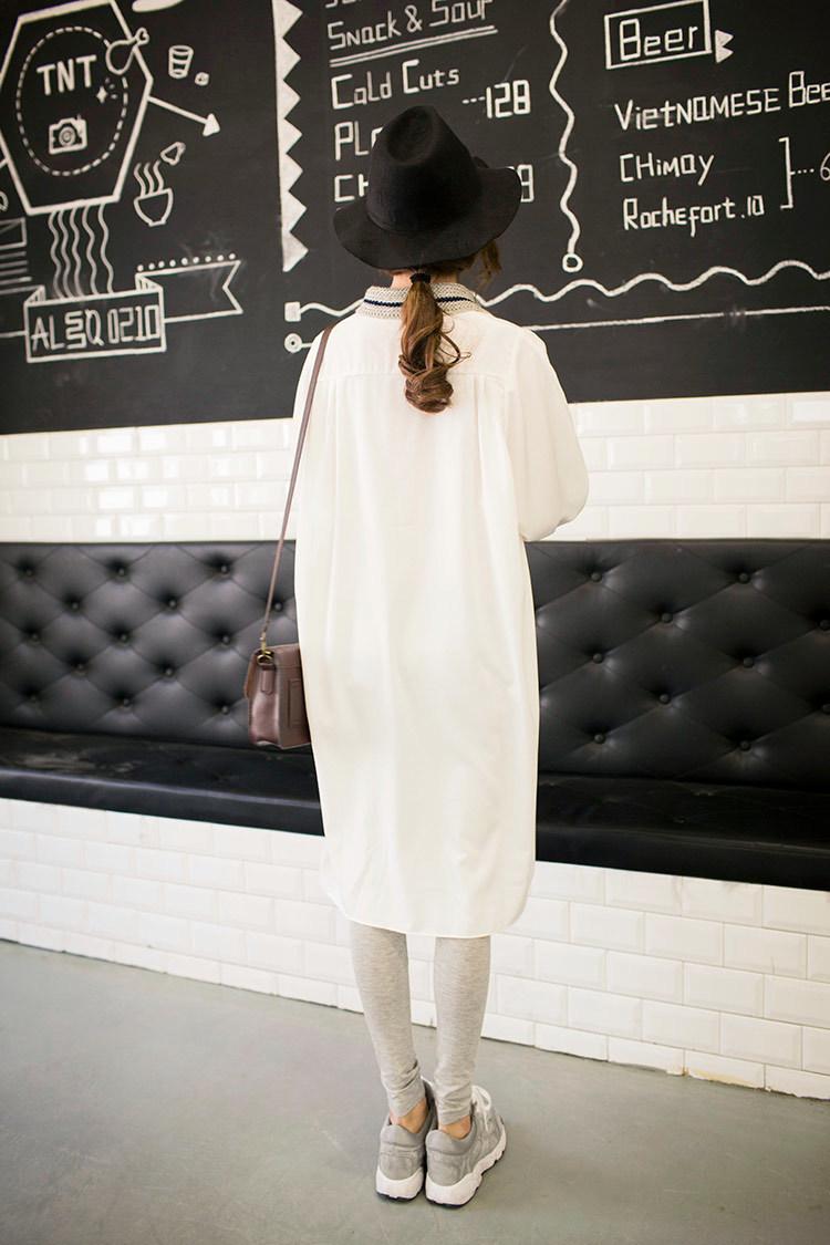 衬衫式连衣裙