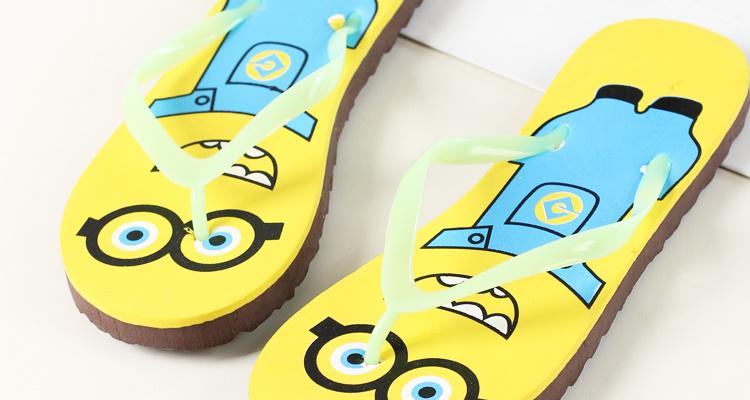 【可爱卡通人字拖】-鞋子-女鞋