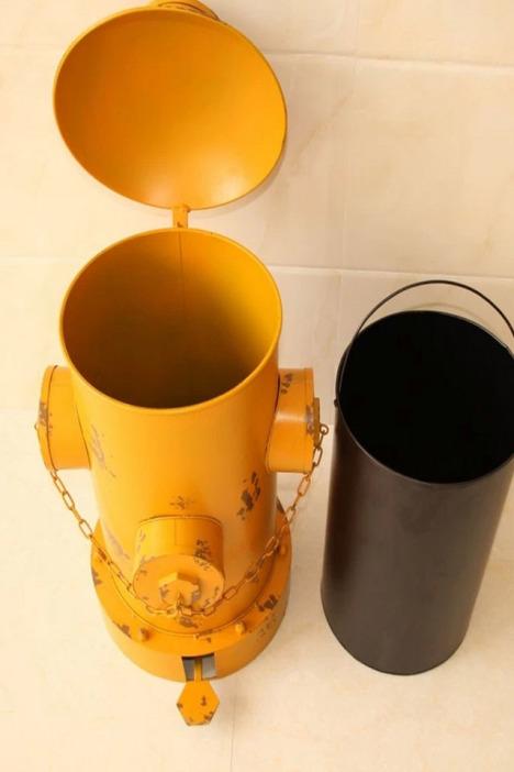 【创意脚踏式垃圾桶】-家居-家居建材