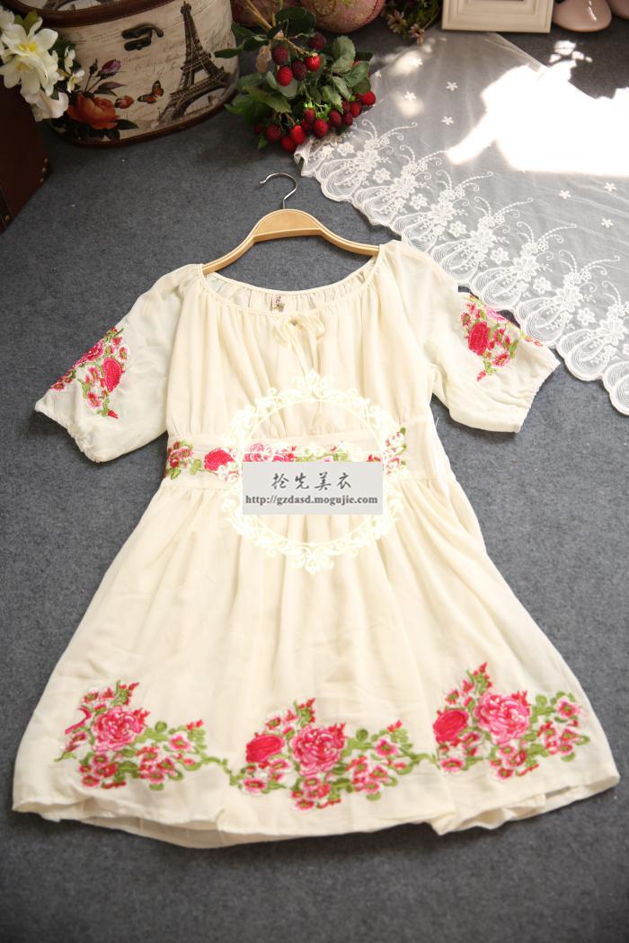 【韩国森系连衣裙】-衣服-裙子