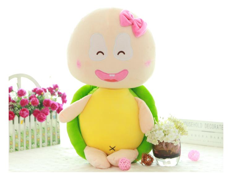 小乌龟站版彩色情侣乌龟公仔