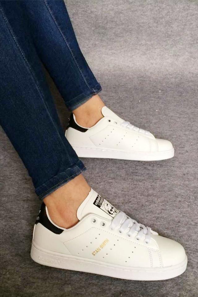【史密斯白红白黑白绿情侣板鞋】-鞋子-女鞋_休闲鞋