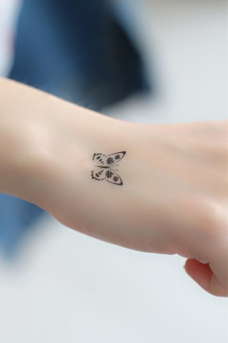 纹身贴,纹身贴纸,玫瑰花纹身贴图片