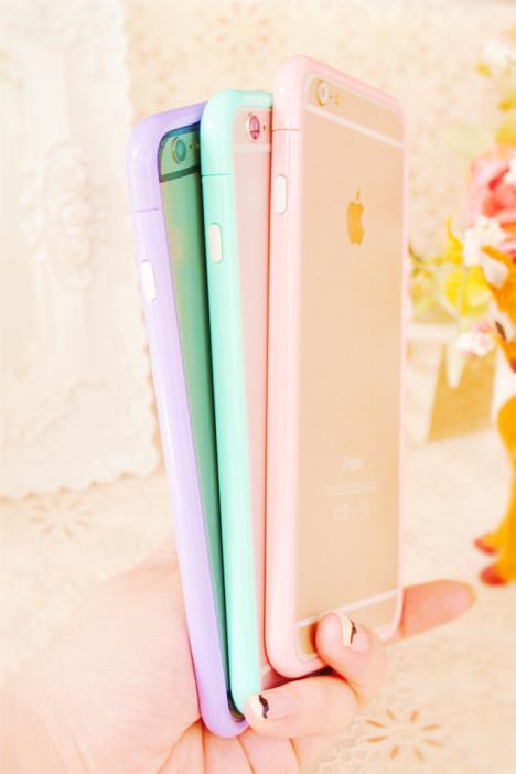 【iphone6/plus拼色边框】-配饰-3c数码配件