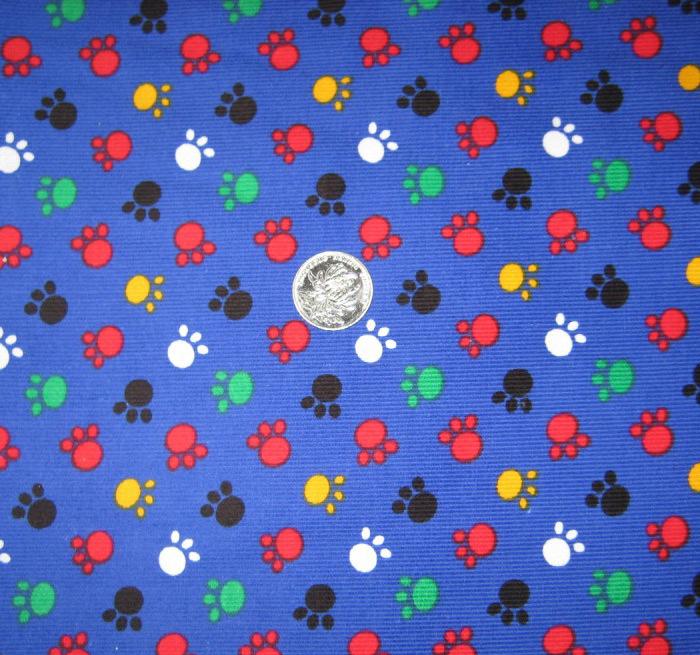 碎花布料蓝色沙发面料
