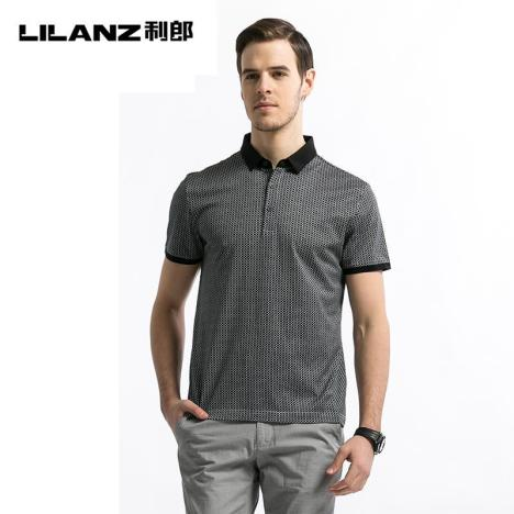【【丝光棉】利郎夏季新品短袖t恤】-无类目--服装店