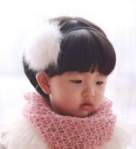 小孩子假发儿童假发女短发蘑菇头