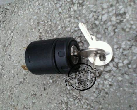 叉车没有钥匙怎么接线?