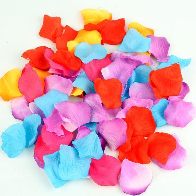 花瓣 结婚用品婚礼布置 婚庆仿真玫瑰花瓣 无纺布床洒 手撒花