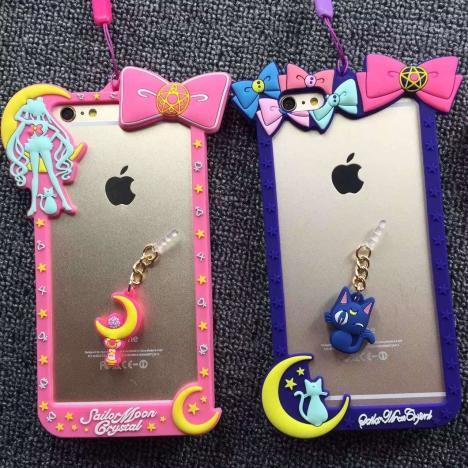 【可爱美少女战士边框iphone】-无类目--小糖糖手机