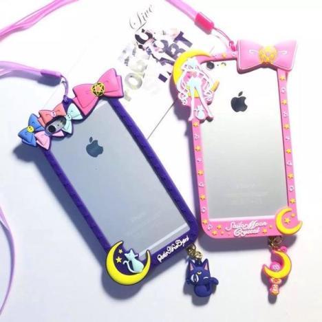 【可爱美少女战士边框iphone】-无类目--保暖背心