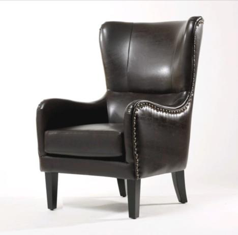 【欧式高背沙发椅 美式乡村休闲老】-无类目--沙发厂