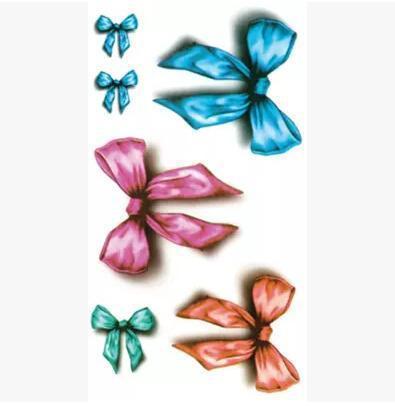 耳后蝴蝶纹身手稿分享展示