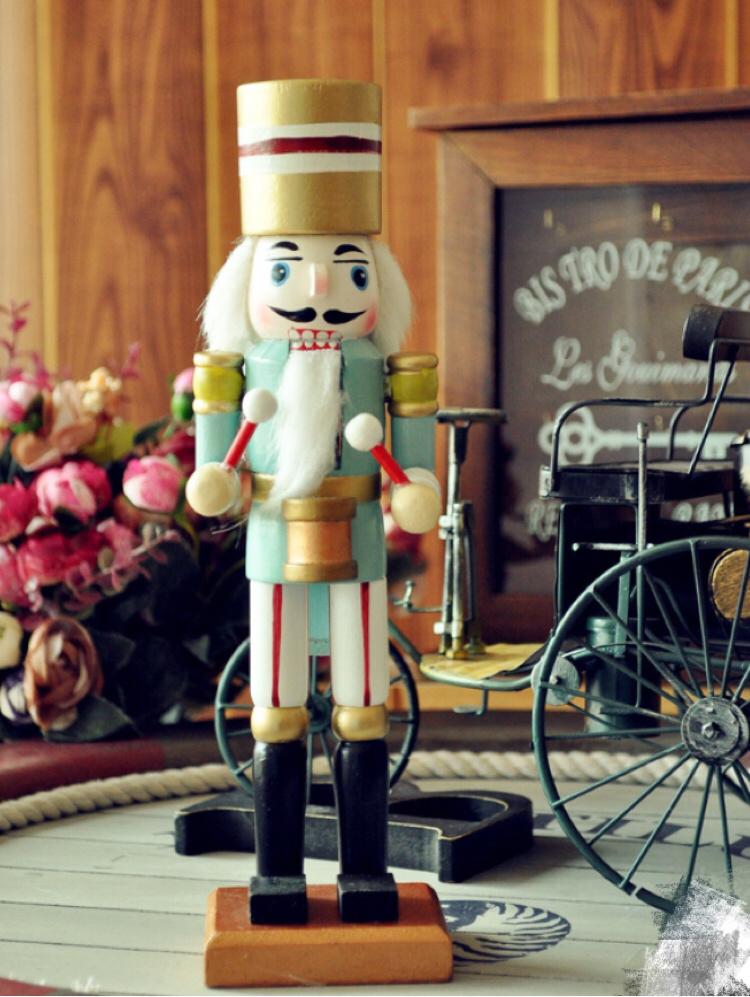 【木偶胡桃夹子】-无类目--斑马的店-蘑菇街优店