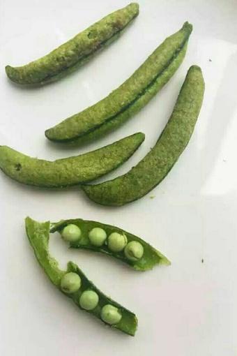 豌豆的果实结构简图