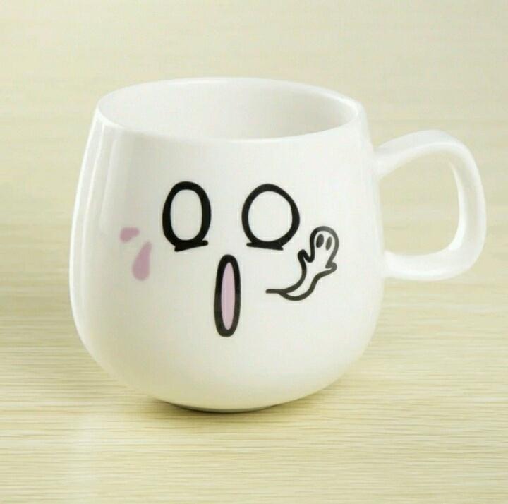 可爱创意表情陶瓷杯子_表情大全